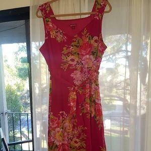NWOT Pink Floral Dress